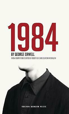 1984 Nineteen Eighty-four by George Orwell (English) Paperback Book Free Shippin