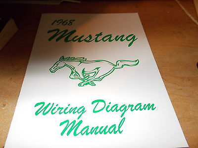 1968 ford mustang owners manual wallet 2225 picclick 1968 ford mustang wiring diagram manual asfbconference2016 Images