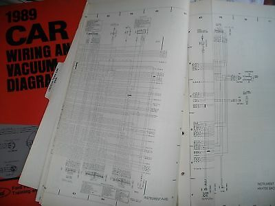 1989 Ford Lincoln Town Car Electrical Vacuum Wiring Diagrams