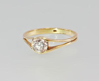 585er Gold Brillant Ring Wertgutachten 99825315