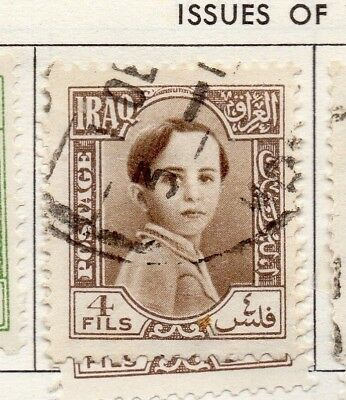 Iraq 1942  Early Issue Fine Used 4f. 139090