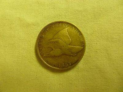 1857 United States Flying Eagle Cent Short Lived Coin Series, Free U.s. Shipping