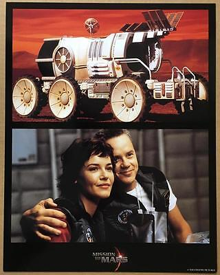 Connie Nielsen Jerry O'Connell & the rover Mission to Mars 2000 lobby card 1211