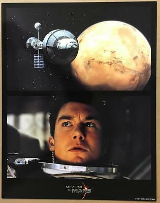 jerry o'connell the spaceship orbiting Mars Mission to Mars 2000 lobby card 1213