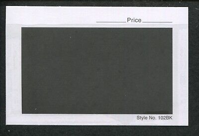 Lot of 3 Boxes 3000 Count 102BK Dealer Stamp Collector Stock Cards 4-1/4 x 2-3/4