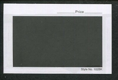 Lot of 3 Boxes - 3000 Style No. 102BK Dealer Collector Stock Cards 4-1/4 x 2-3/4