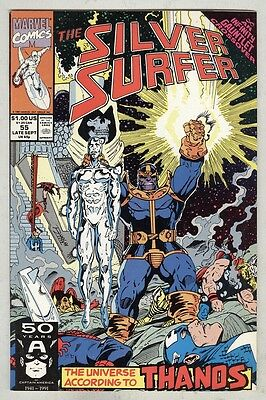 Silver Surfer #55 September 1991 VF Thanos