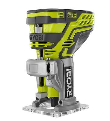 Ryobi One Plus 18v Cordless Adjustable Trim Router Fixed Base Woodworking Tools