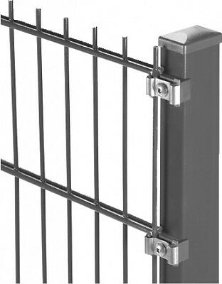 Double bar mat anthracite 2010x830mm grill Fence Fencing Garden Accessory