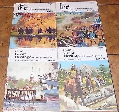 Our Great Heritage From The Beginning LOT OF 10 History children's books