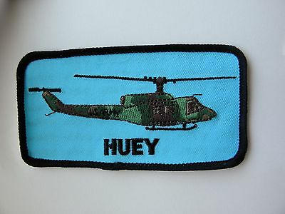 Bell Uh-1 Huey Iroquis Military Helicopter Embroidered Patch 4.5 Inches