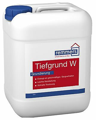 Remmers Tiefgrund W 1 L Primer with solidifying Effect