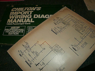 1990 volkswagen golf oversized wiring diagrams schematics manual sheets set