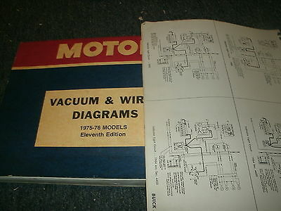 1975 1976 dodge aspen plymouth volare complete factory wiring diagrams  sheets