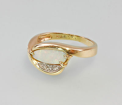 585er Gold Opal Brillant Ring 99825256