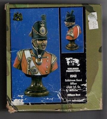 VERLINDEN 1542 - COLDSTREAM GUARD OFFICER WATERLOO - 200mm RESIN KIT