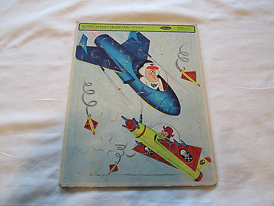 1966 Whitman  Roger Ramjet Frame Tray Puzzle Rare