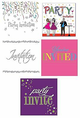 age 40 40th birthday party invitations envelopes boy male girl