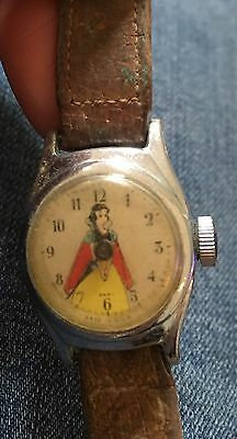 Vintage US Time SNOW WHITE Watch