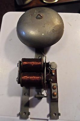 Antique Electric Doorbell Mechanical bits Bell & Coils see pics cheap