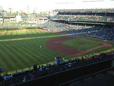 2 to 4 Tickets Chicago Cubs vs Chicago White Sox 7/25 Wrigley Field