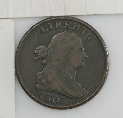 1803 Draped Bust Half Cent *Y104