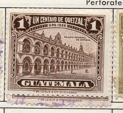 Guatemala 1926 Early Issue Fine Mint Hinged 1c. 139628