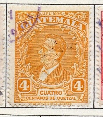 Guatemala 1929 Early Issue Fine Used 4c. 139633