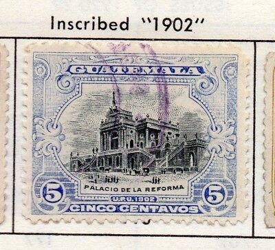 Guatemala 1902 Early Issue Fine Used 5c. 139639