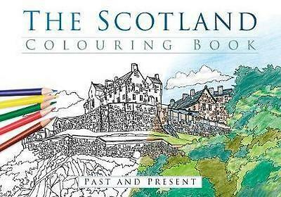 NEW The Scotland Colouring Book By THP Paperback Free Shipping