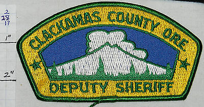 Oregon, Clackamas County Deputy Sheriff Patch