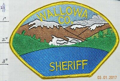 Oregon, Wallowa County Sheriff Dept Patch