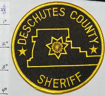 Oregon, Deschutes County Sheriff Dept Patch