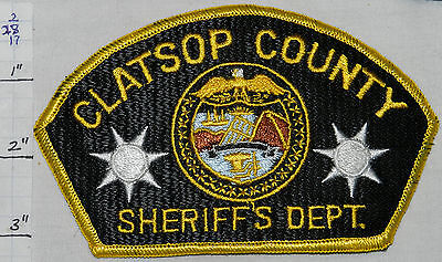 Oregon, Clatsop County Sheriff's Dept Patch