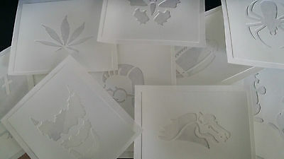 AIRBRUSH TATTOO STENCILS choose the ones you want... end of stock sell out