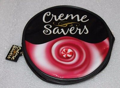 Unused New Creme Savers Cremesavers makeup carrying case by Life Savers