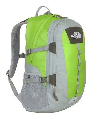 00 The North Face Backpack Hot Shot Backpack, Tree Frog Green/Monument Gray