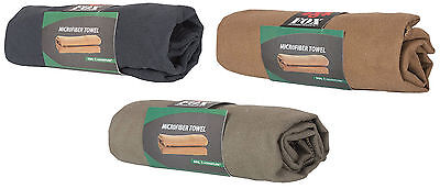 fast drying microfiber small camping towel hiking outdoors deployment fox 36-20
