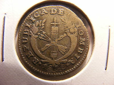 Colombia Silver 1 Real, 1830, VF (for issue), KM#87.2