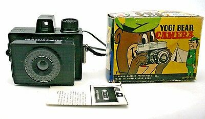 Yogi Bear Camera Hanna Barbera Character Original Box W/ Papers Mint