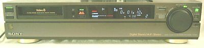 Sony EV-S550 Video8 8mm Video 8 PCM HiFi Stereo Player Recorder VCR Deck EX