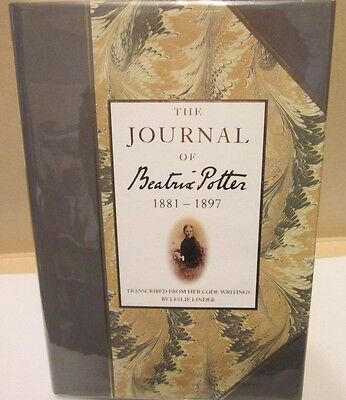 1989 'The Journal of Beatrix Potter 1881-1897' HB in DJ, revised edition