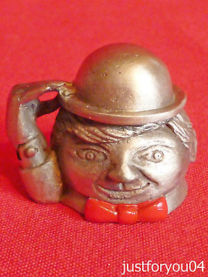 Pewter - The Circus Clown Collectors Thimble