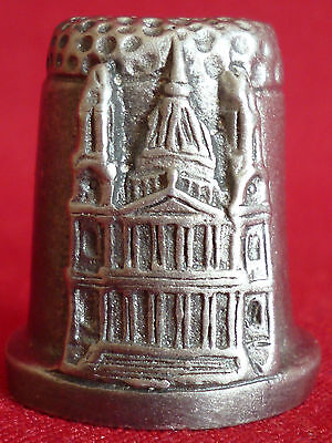 Pewter - St Paul's Cathedral - London Collectors Thimble