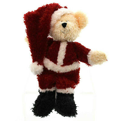 Boyds Bears Plush 2002 Mr. Santa - Uncle Beans Huggle-Fluffs - #610300