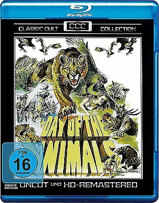Day of the Animals BLU-RAY Uncut Import BRAND NEW - USA Compatible