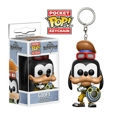 Funko Pocket POP! Keychain Kingdom Hearts - GOOFY (1.5 inch) - New in Box