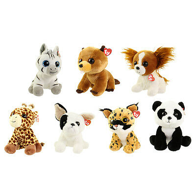 TY Classic Plush - SET of 7 JANUARY Releases (9.5 inch) (Larry, Baboo, Barks +4)