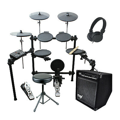 Artist EDK260 Electric 8 Piece Electronic Drum Kit with Stool and Amp - New