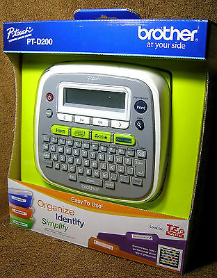 Brother P-Touch PT-D200 Label Maker *****FactoryNEW*****
